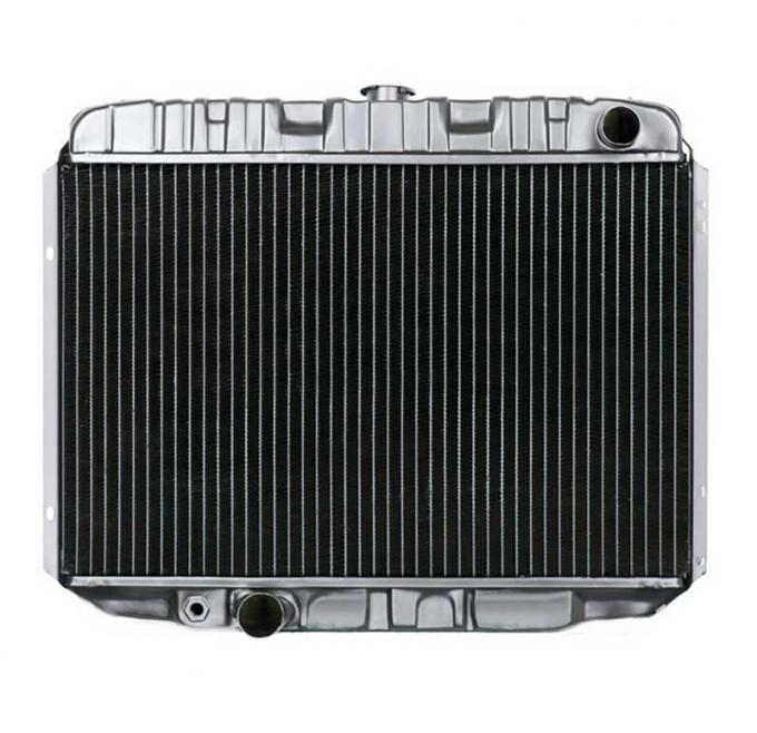 OER 1968-70 Mustang V8/302-351 With Manual Trans 3 Row Copper/Brass Radiator CRD5122S