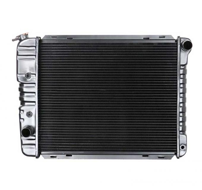 OER 1971-73 Mustang L6/V8 SB With Auto Trans 4 Row Copper/Brass Radiator CRD5108A