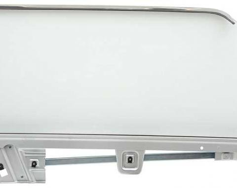 OER 1964-66 Mustang Door Glass Assembly Convertible Clear - RH 21410CRCK