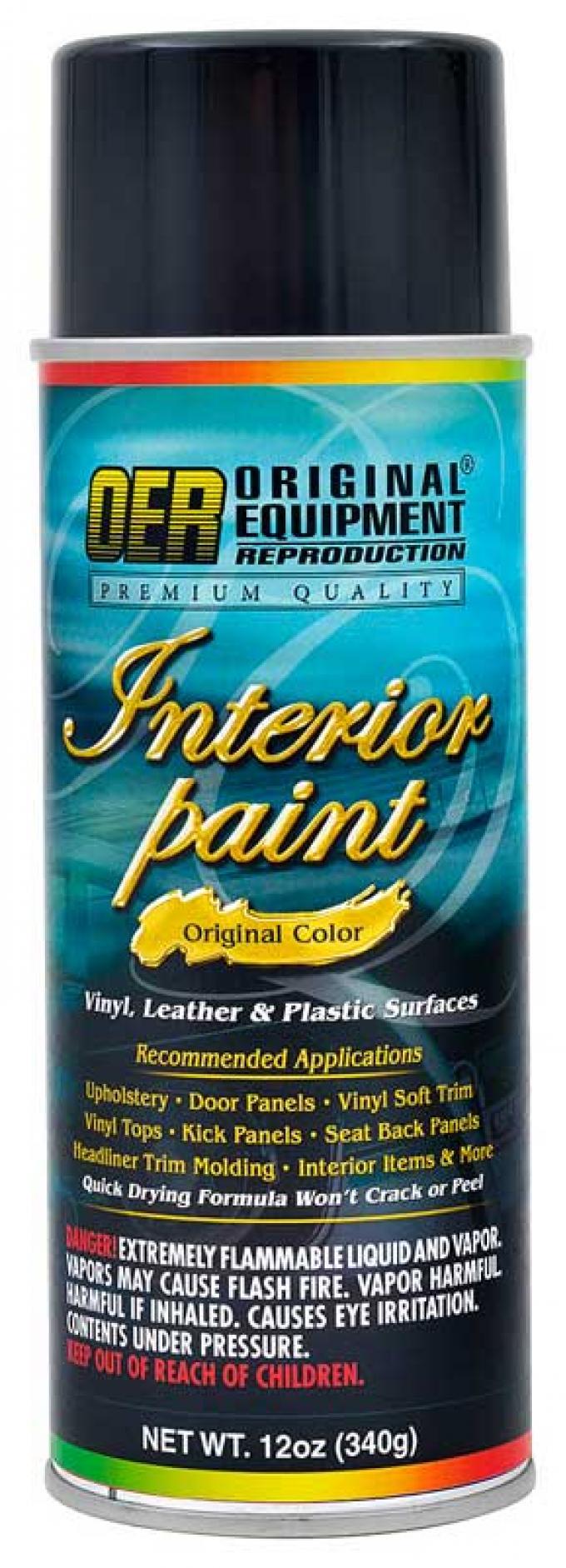 OER 1969 Mustang Dark Ivy Metallic Color Coat Spray 12 Oz. Aerosol Can PP927