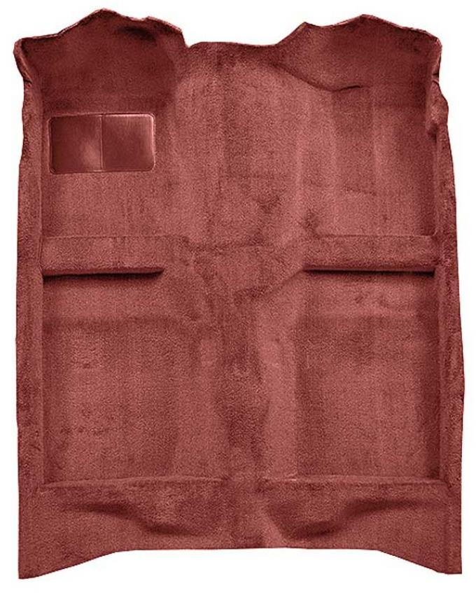 OER 1982-93 Mustang Coupe/Hatchback Passenger Area Cut Pile Carpet with Mass Backing - Maple / Canyon A4022B58