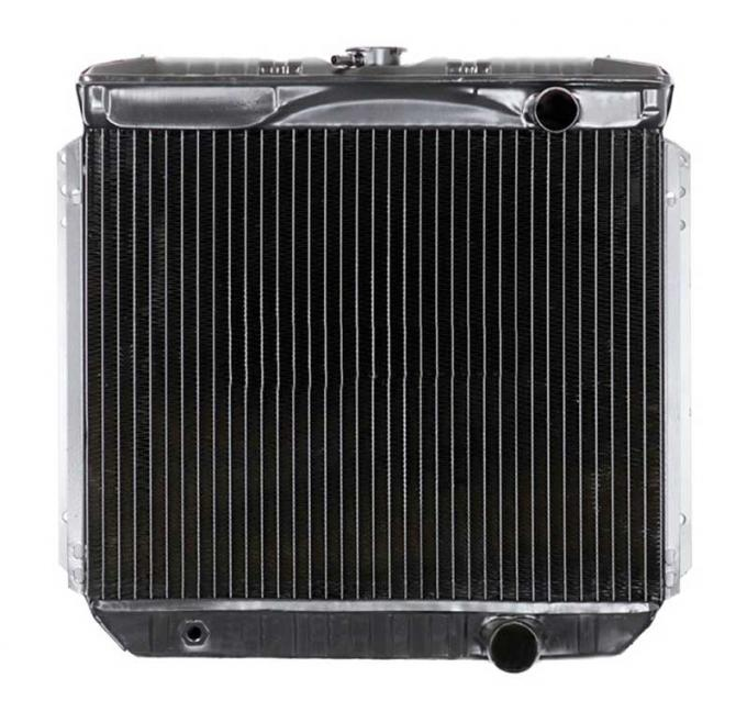 OER 1967-69 Mustang V8/260-351 With Manual Trans 3 Row Copper/Brass Radiator CRD5116S