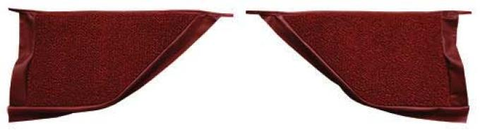 OER 1965-68 Mustang Coupe Loop Carpet Kick Panel Inserts - Emberglow A4070A49
