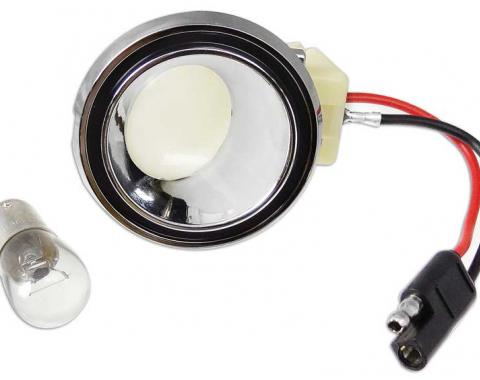 OER 1969-70 Mustang, 1969-72 Cougar Interior Quarter Lamps with Fastback 13776B