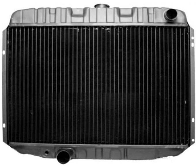OER 1968-70 Mustang V8/390-428 With Manual Trans 3 Row Copper/Brass Radiator CRD5132S
