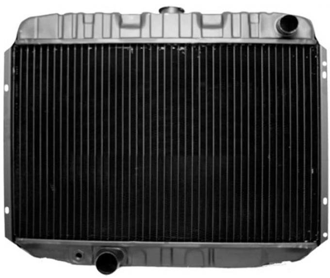 OER 1968-70 Mustang V8/390-428 With Manual Trans 4 Row Copper/Brass Radiator CRD5133S