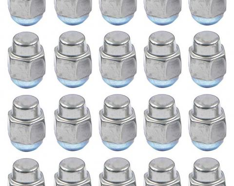 "OER 7/16""-20 Late Design Low Crown Stainless Acorn Style Lug Nut - Set of 20 *881229"