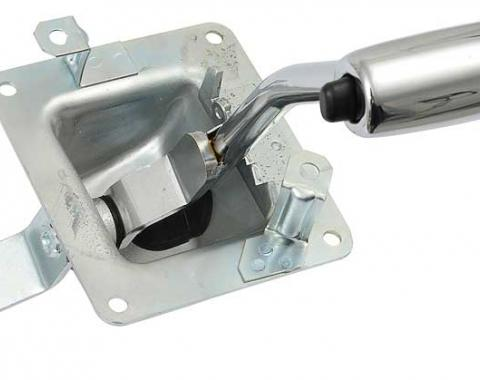 OER 1967-68 Mustang/Cougar Automatic Shifter Assembly - For Models With Factory Console 7210N