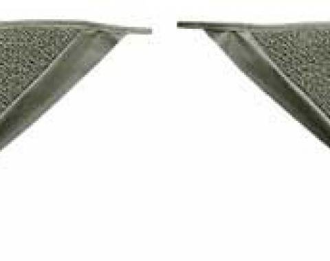 OER 1965-68 Mustang Coupe Loop Carpet Kick Panel Inserts - Ivy Gold A4070A09