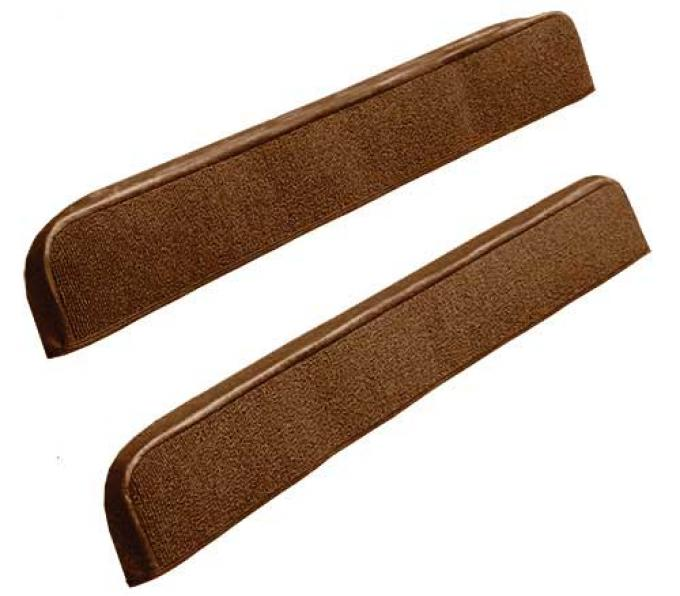 OER 1971-73 Mustang Door Panel Carpet Inserts - Ginger A4097A29