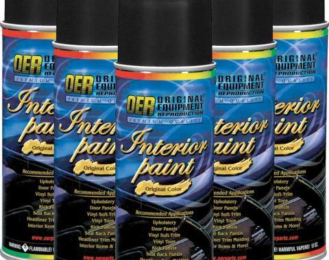 OER Black Restoration Carpet Dye - Case of 6 - 12 Oz Aerosol Cans *PP905