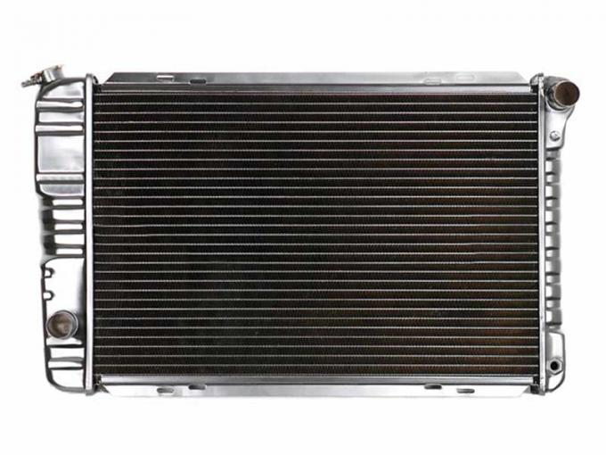 OER 1971-73 Mustang V8/302-429 With Manual Trans 4 Row Copper/Brass Radiator CRD5125S
