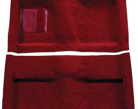 OER 1964 Mustang Convertible Passenger Area Nylon Loop Floor Carpet Set - Maroon A4033A15