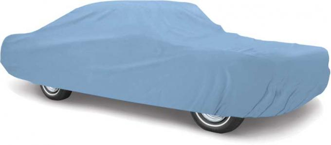 OER 1971-73 Mustang Fastback Diamond Blue™ Car Cover MT8905A