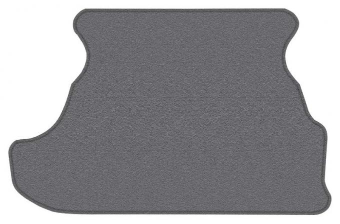 OER 1979-93 Mustang Coupe Cut Pile Carpet Trunk Mat - Gray A4028A27