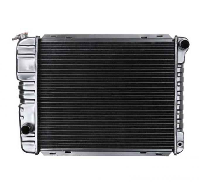 OER 1971-73 Mustang L6/V8 SB With Manual Trans 4 Row Copper/Brass Radiator CRD5108S