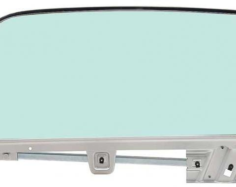 OER 1967-68 Mustang Door Glass Assembly Convertible Tinted - LH 21410FLTK