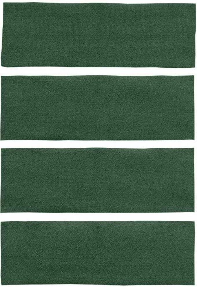 OER 1971-73 Mustang Fastback 4 Piece Nylon Loop Fold Down Carpet Set - Green A4043A39