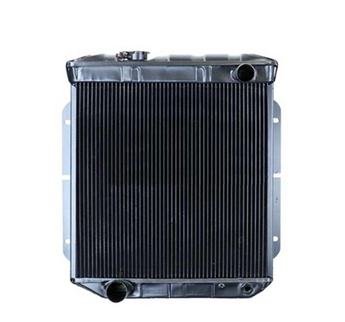 OER 1964-66 Mustang With Manual Trans For V8 Conversion 4 Row Copper/Brass Radiator CRD5114S