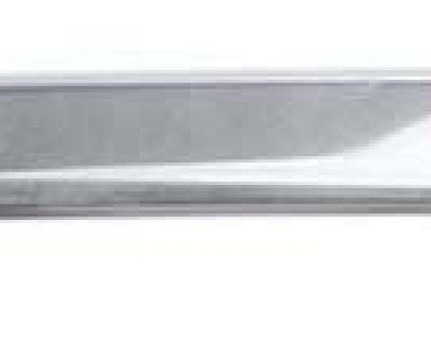 OER 1968 Mustang Convertible Windshield Header Molding Stainless Steel 03606C