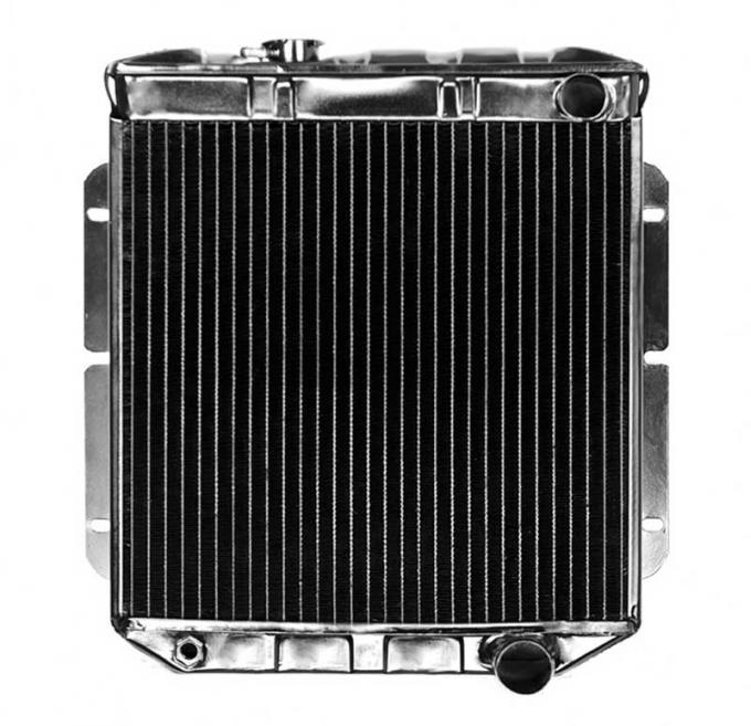 OER 1964-66 Mustang V8/260-289 With Manual Trans 4 Row Copper/Brass Radiator CRD5112S