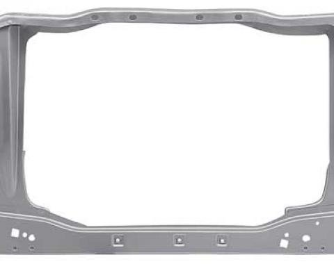 OER 1971-73 Mustang/Cougar Coupe Radiator Support With Lower Crossmember 16138KR