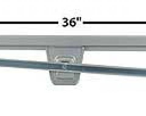 OER 1967-68 Mustang Door Glass Channel - Glass Retainer - RH 21458A