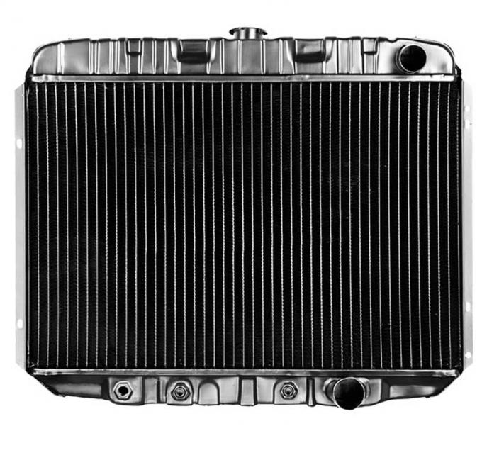 OER 1968-69 Mustang V8/289-351 With Auto Trans 3 Row Copper/Brass Radiator CRD5120A