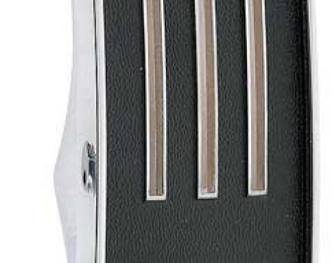 OER 1967 Mustang, Heater Control Dash Plate, w/o AC, w/o Knobs 18A651E