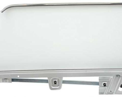 OER 1964-66 Mustang Door Glass Assembly Coupe Clear - LH 21410ALCK