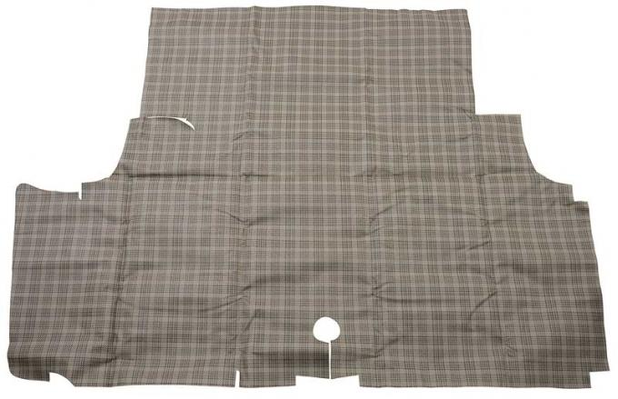 OER 1971-73 Mustang Trunk Mat - Plaid Coupe / Convertible TM5