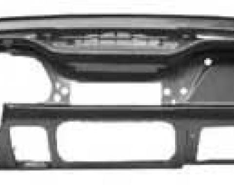 OER 1967-68 Mustang Coupe/Convertible Steel Dash Panel Assembly - Without Knee Pad Holes 04320B