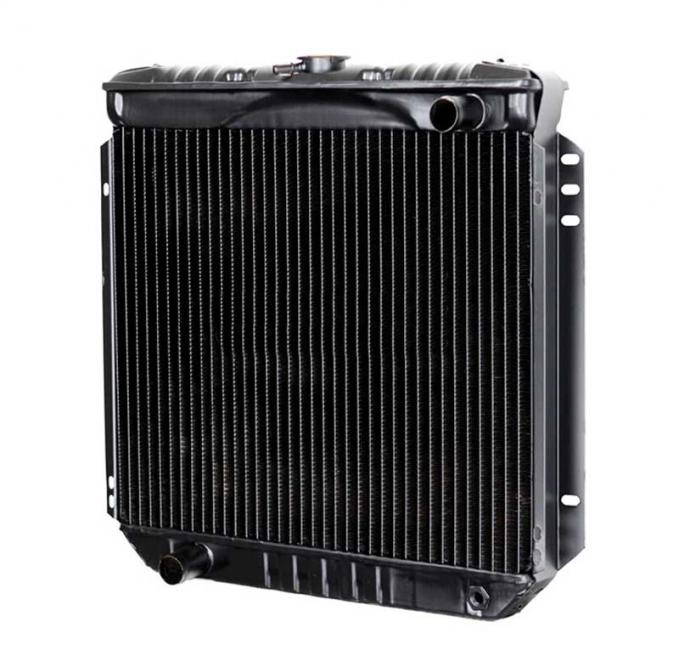 OER 1967-70 Mustang V8/302-351 With Manual Trans 4 Row Copper/Brass Radiator CRD5119S