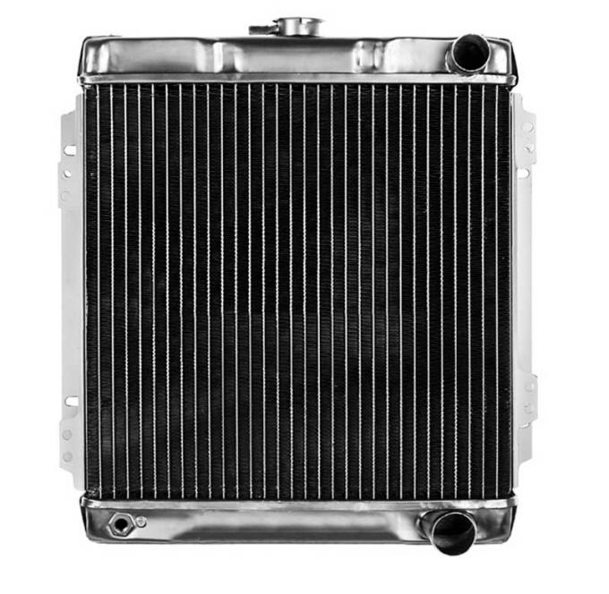 OER 1966 Mustang Shelby GT-350 With Manual Trans 4 Row Copper/Brass Radiator CRD5115S