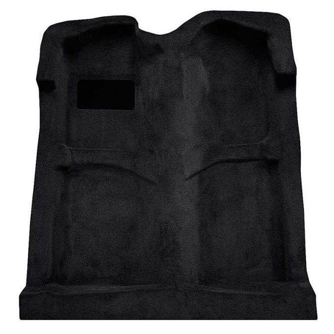 OER 1994-04 Mustang Coupe/Convertible Passenger Area Cut Pile Carpet with Mass Backing - Black A4027B01