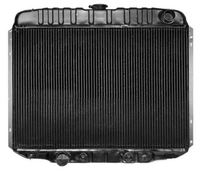 OER 1967 Mustang V8-390 With Auto Trans 4 Row Copper/Brass Radiator CRD5131A