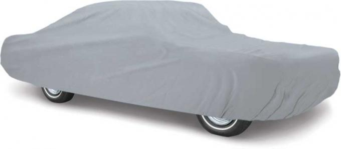 OER 1994-98 Mustang Convertible Diamond Fleece Gray Car Cover - Triple Layer for Indoor or Outdoor Use MT8912B