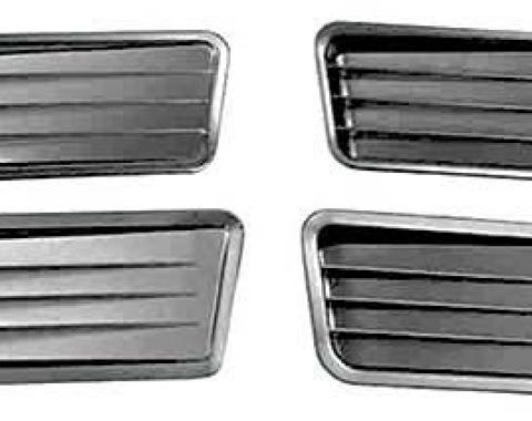 OER 1967 Mustang Quarter Panel Ornament Set 290A76GH