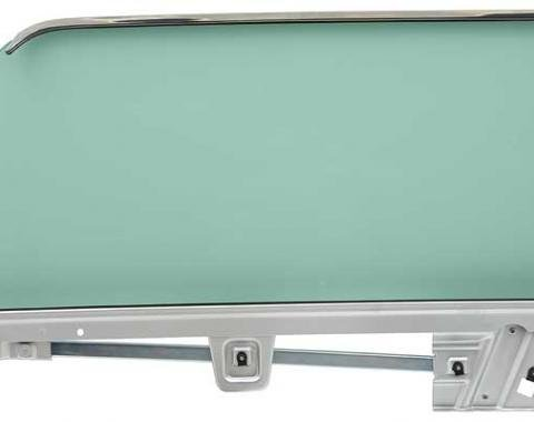 OER 1964-66 Mustang Door Glass Assembly Convertible Tinted - LH 21410CLTK
