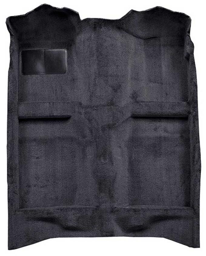 OER 1982-93 Mustang Coupe/Hatchback Passenger Area Cut Pile Carpet with Mass Backing - Graphite A4022B33