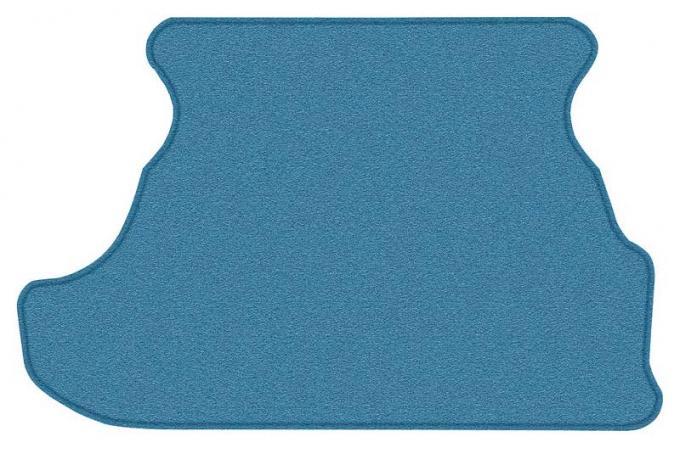 OER 1979-93 Mustang Coupe Cut Pile Carpet Trunk Mat - Ocean Blue A4028A41