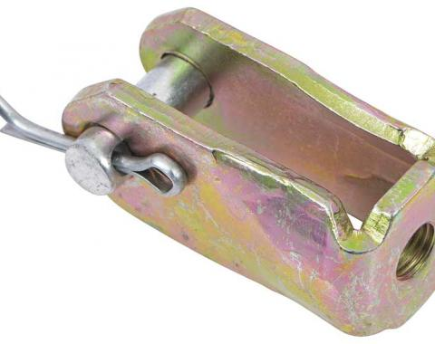 "OER Universal 3/8""-24 Brake Pedal Clevis - Zinc Plated 153660Z"