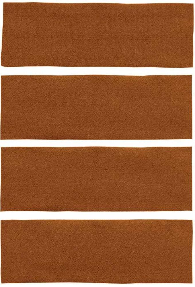 OER 1971-73 Mustang Fastback 4 Piece Nylon Loop Fold Down Carpet Set - Ginger A4043A29