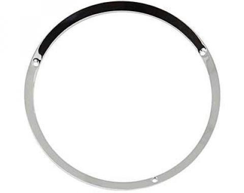 OER 1967-68 Mustang Headlamp Door Bezel Trim Ring RH/LH - Chrome (Each) 13064C