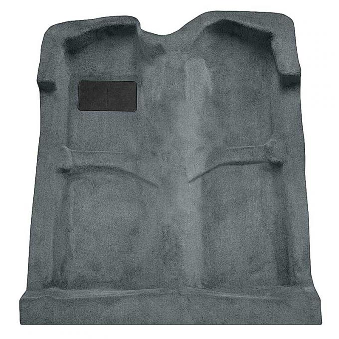 OER 1994-04 Mustang Coupe/Convertible Passenger Area Cut Pile Carpet with Mass Backing - Dove Gray A4027B25