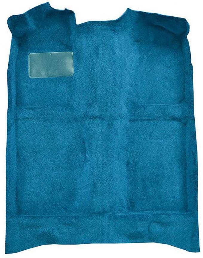 OER 1979-81 Mustang Passenger Area Cut Pile Molded Floor Carpet Set - Ocean Blue A4020A41