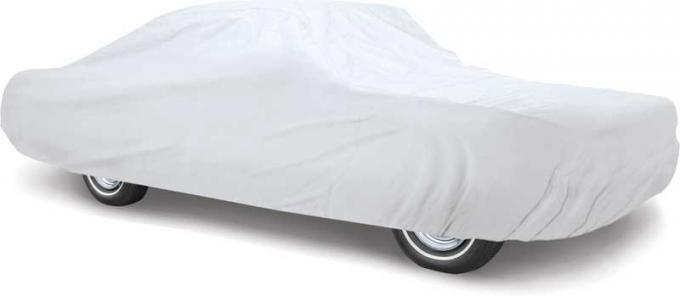 OER 1971-73 Mustang Coupe & Convertible Titanium Plus Car Cover - Gray - For Indoor or Outdoor Use MT8904H