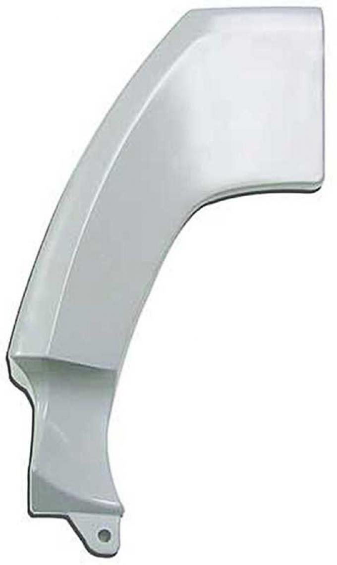 OER 1971-72 Mustang, Quarter Panel Upper Extension, Coupe, Convertible, Drivers Side 27702X
