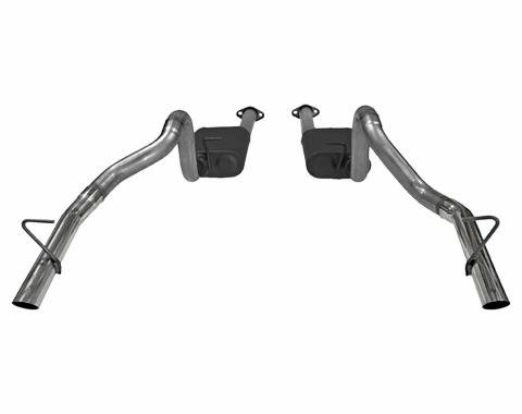 Flowmaster 1986-1993 Ford Mustang American Thunder Cat Back Exhaust System 817213